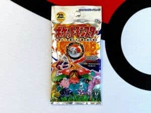 Pokémon TCG CP6 20th Anniversary Generations Booster Pack Front