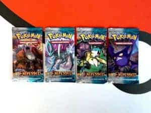 Pokemon TCG HS Unleashed Entfesselt DE All 4 Packart Booster Front