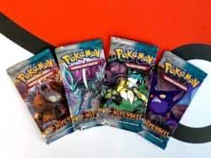 Pokemon TCG HS Unleashed Entfesselt DE All 4 Packart Booster
