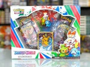 Sword Shield Figure Collection Pikachu Promo Front Pokémon TCG