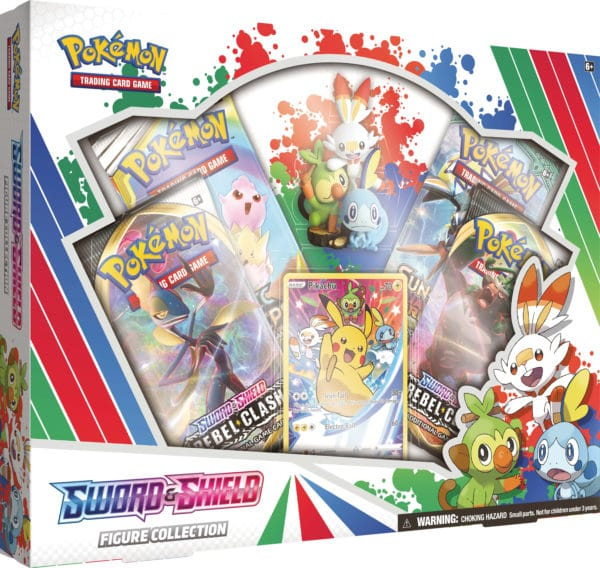 Sword and Shield Figure Collection Promo Pokemon TCG