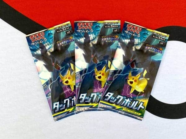 Tag Bolt SM9 Booster Packs Pokémon TCG