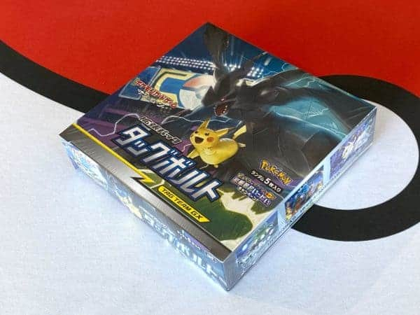 Tag Bolt SM9 Box Pokémon TCG