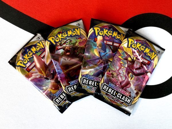 Rebel Clash Booster Packs SWSH3 Pokémon TCG