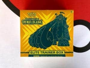 Rebel Clash Elite Trainer Box SWSH3 Front Pokémon TCG