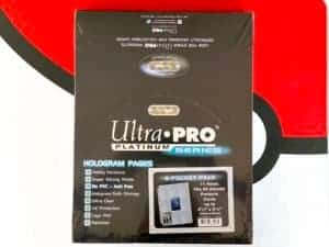 Ultra Pro Platinum 9-Pocket Hologram Ordner-Seiten Box