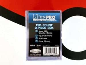 Ultra Pro Storage Box 150 Count 2-Piece Box Front