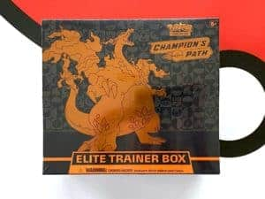 Champion's Path Elite Trainer Box Front Pokémon TCG