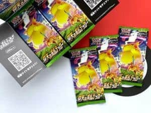 S4 Electrifying Tackle JPN Booster Packs Pokémon TCG