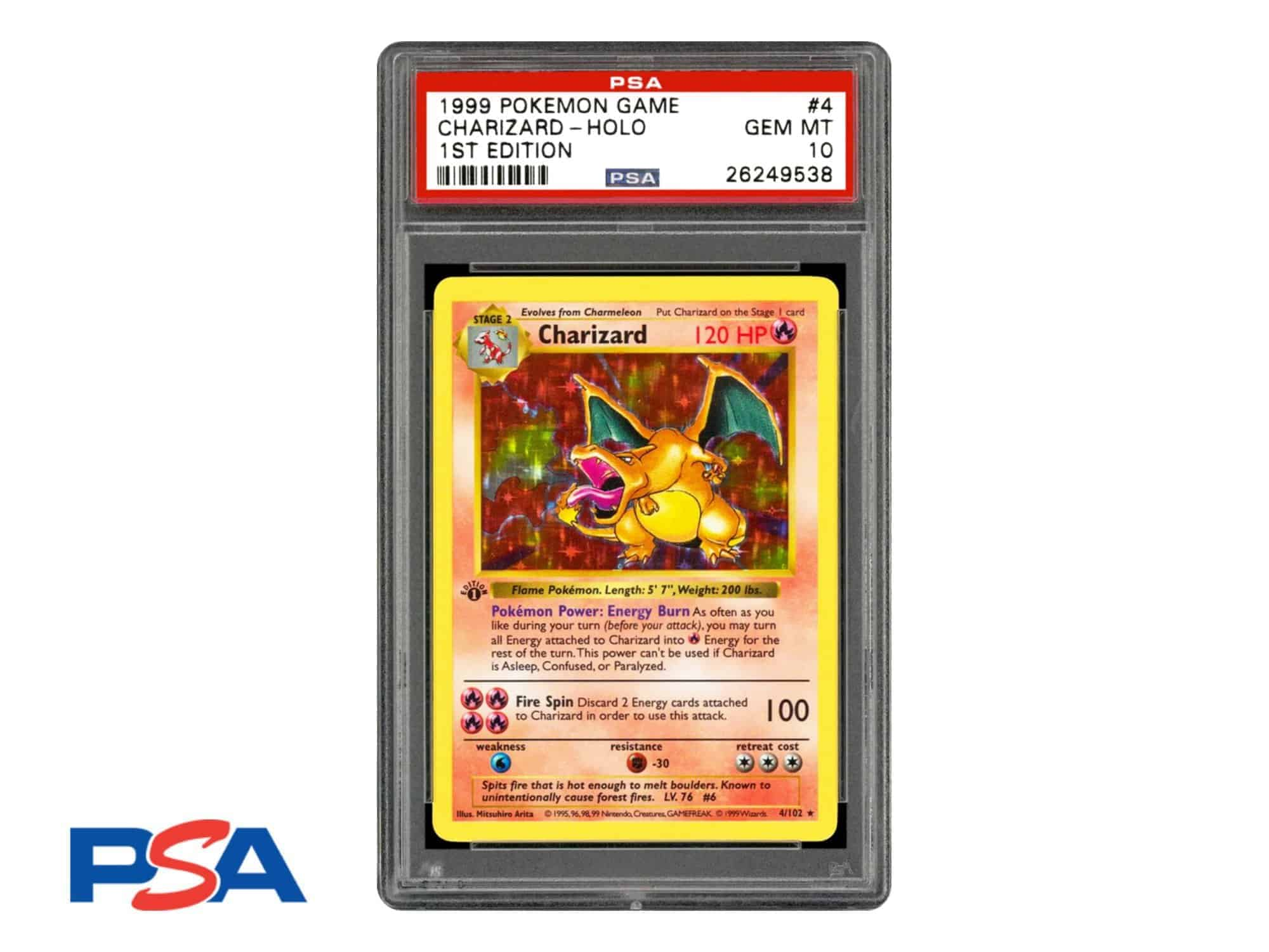 CardCollectors PSA Grading Trading Game Card