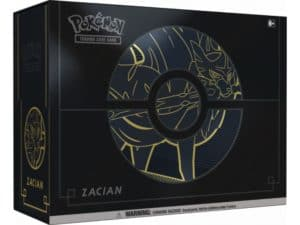 Sword Shield Elite Trainer Box Plus Zacian EN Pokémon TCG