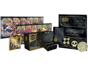 Sword Shield Elite Trainer Box Plus Zamazenta Content EN Pokémon TCG
