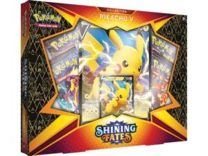 Shining Fates SWSH 4.5 Pikachu V Box Mkt CardCollectors