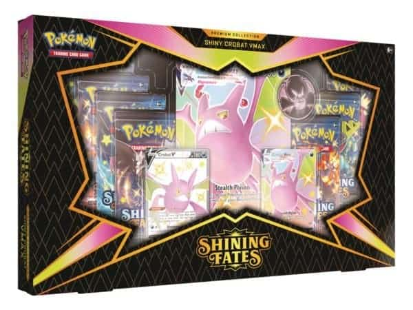 Shining Fates SWSH 4.5 Premium Collection Shiny Crobat VMAX Mkt CardCollectors