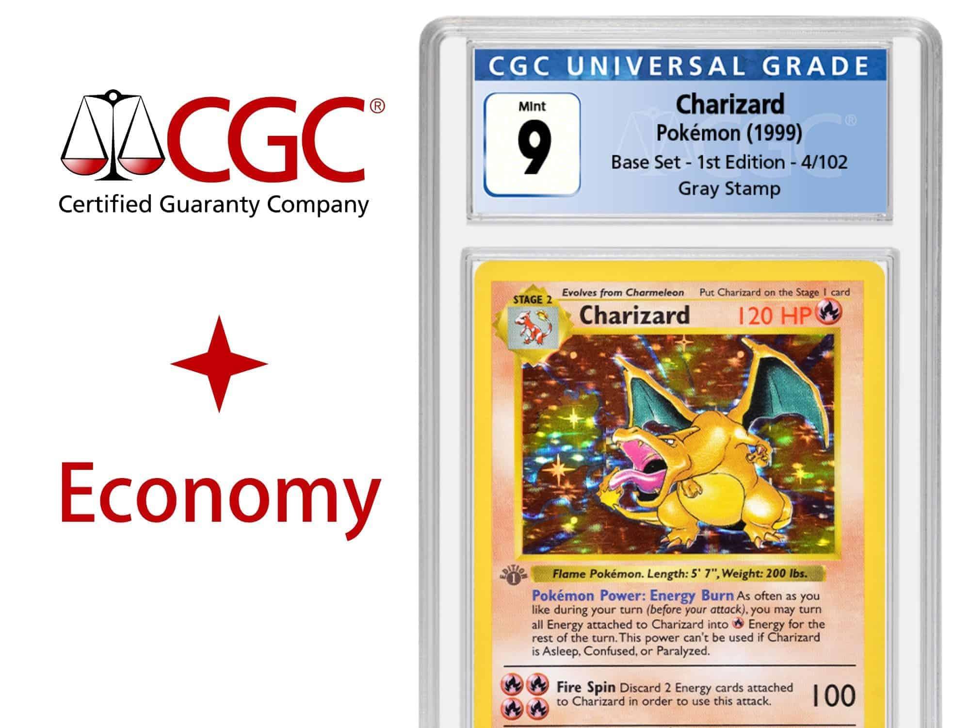 CGC Grading Ticket: 1 Karte TCG – Economy Service