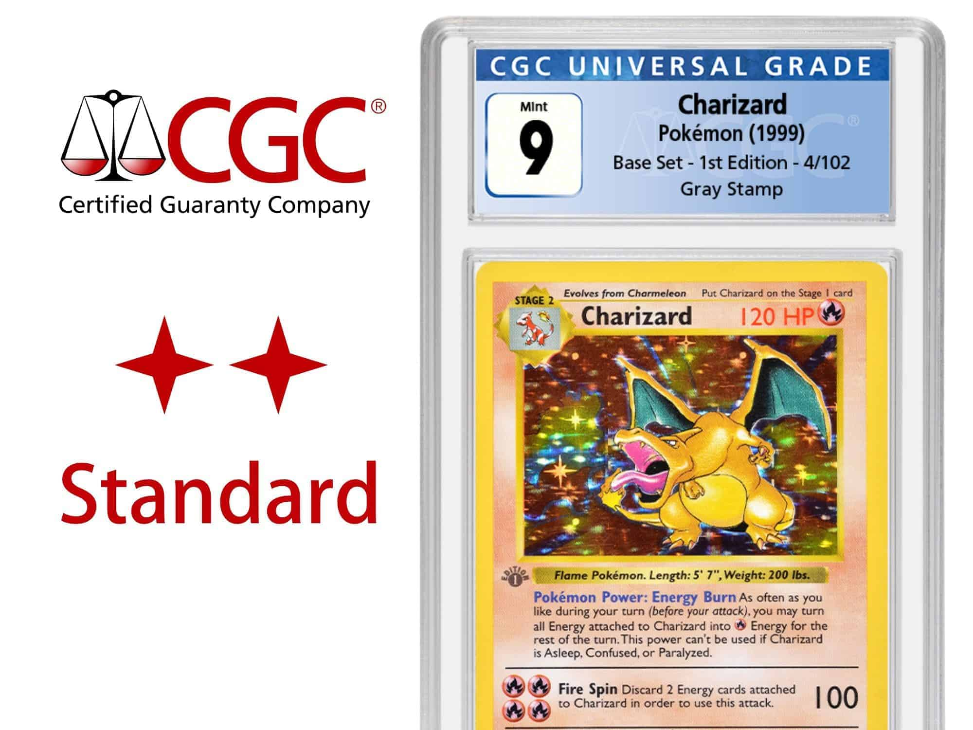 CGC Grading Ticket: 1 Karte TCG – Standard Service