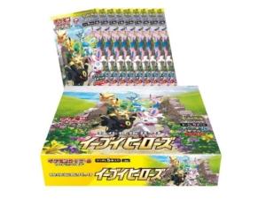 Eevee Heroes S6a Booster Box JPN