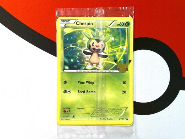 Promo Cards Kalos First Partners – Gen 6 – Pokémon 25th Anniversary