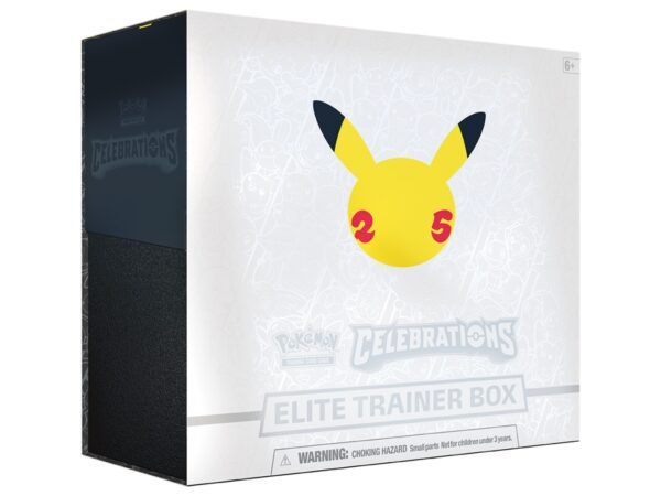 Pokémon TCG Celebrations Elite Trainer Box Pre