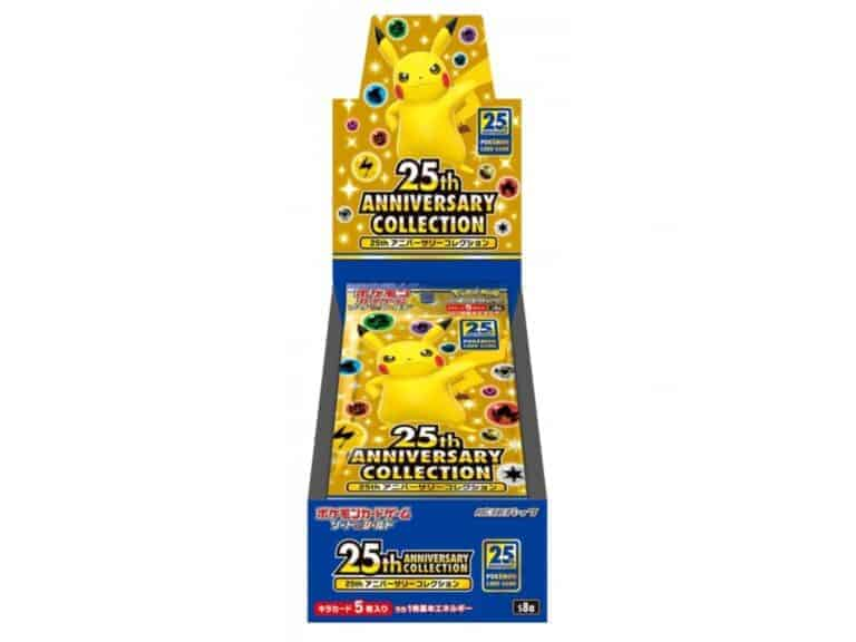 «25th Anniversary Collection» S8a: Booster Box mit 16x Booster Packs (JPN)