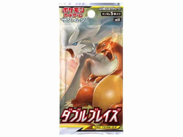 SM10 Double Blaze Booster Pack JPN MKT Pokémon TCG