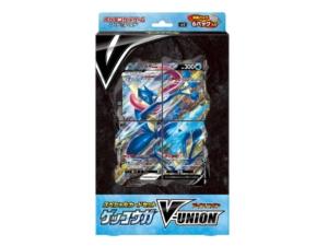 Greninja V-Union Special Card Set Front MKT JPN Pokémon TCG