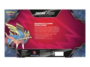 Zacian V Union Special Collection Back EN MKT Pokémon TCG